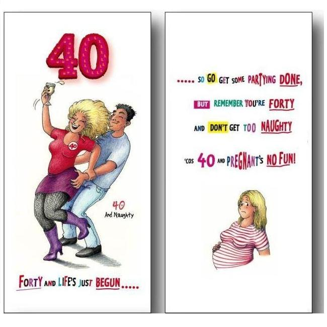 Witty Age Birthday Greetings Card